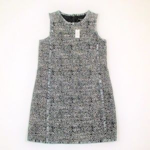 New Banana Republic Factory 6 Sheath Dress Tweed